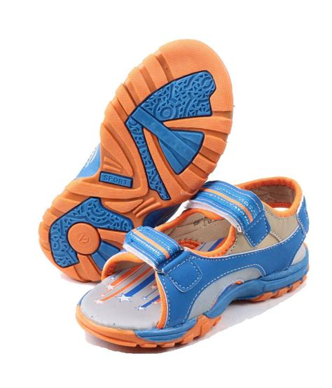 ville blue floater sandals for price in india