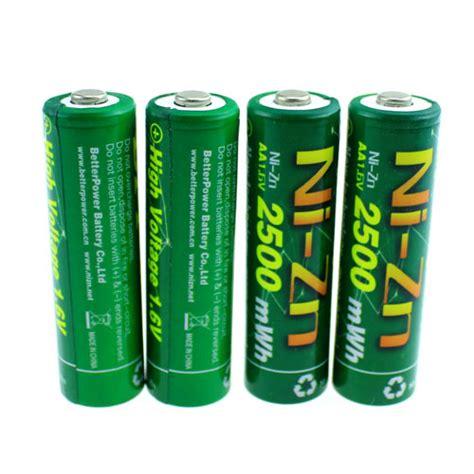 Enelong Bpi Ni Zn Aaa Battery Charger 1000mah With Button Top 4 Pcs aaa ni zn battery with 1000mah