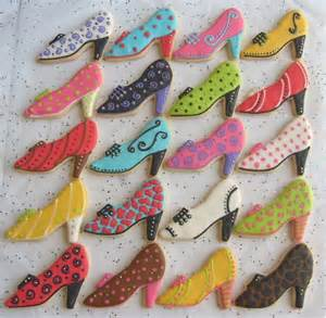 high heel shoe cookies bakers and artists the daily
