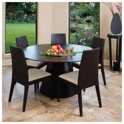 contemporary and modern dining tables wooden round