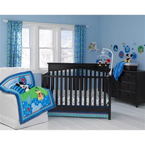 Mickey Mouse Baby Bedding Set Disney Baby Mickey Mouse Best Friends 3 Crib Bedding Set Walmart