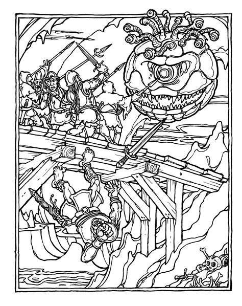 coloring book album order the official advanced dungeons dragons coloring album