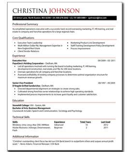 Best Resume Executive Summary by 10 Creating A Perfect Resume Writing Resume Sample