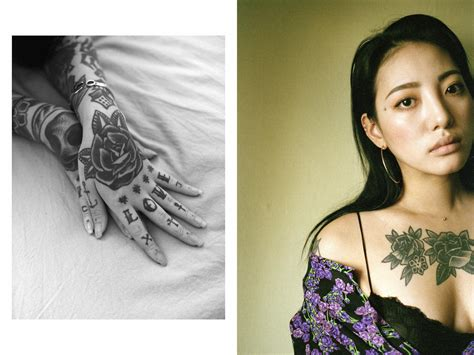 where to get tattoo in korea inside the illegal subculture of female korean tattoo