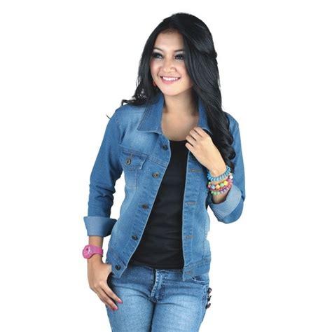 Jual Kemeja Lengan Panjang Asli Mgee Denim Style Navy Fortis 15cm200r jual kemeja denim jaket lefis wanita baju denim cewek ndu