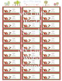 Return address labels merry christmas by treschicpartydesigns