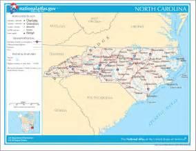 carolina on the us map map of carolina na mapsof net