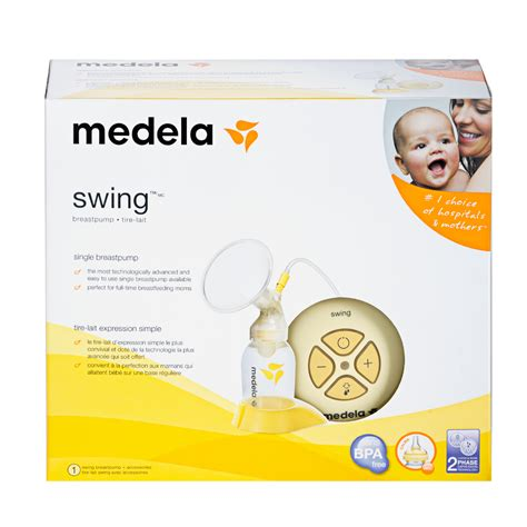 swing single electric breast medela swing single electric breast