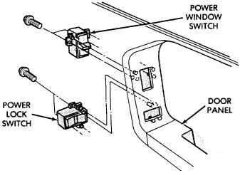 how do i remove power door lock switch from a 2007 bentley azure i replace the drivers side mirror on a 1993 jeep grand cherokee