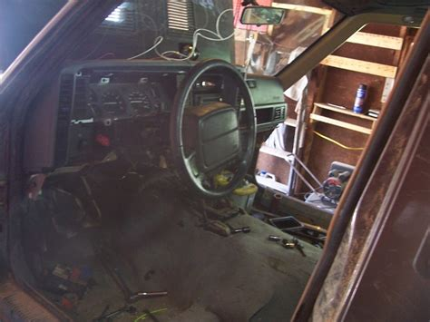 Comanche Interior by Jeep Comanche Interior