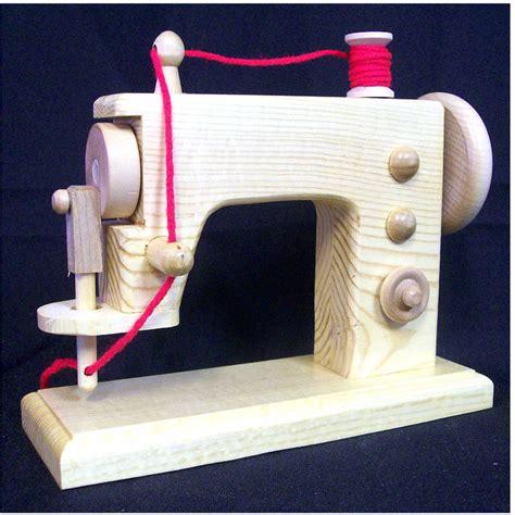 Handmade Sewing Machine - wood sewing machine realistic handmade wooden replica