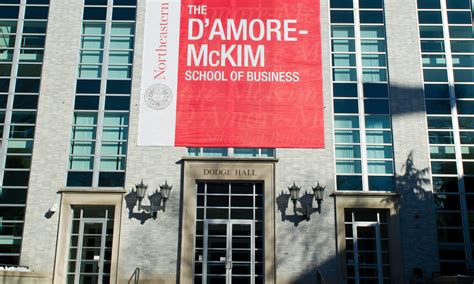 Simmons Mba Ranking by D Mckim School Of Business Mba Northeastern