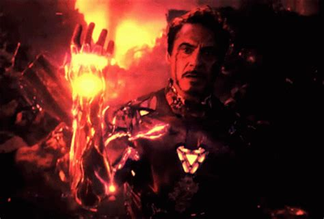 iron man endgame gif ironman endgame discover share gifs