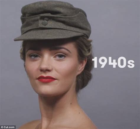 german womens hairstyles ww2 cut com video reveals 100 years of german beauty daily