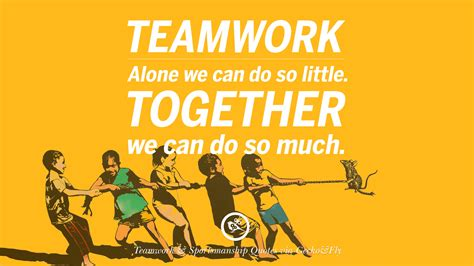 living together good for some not so much for others 50 inspirational quotes about teamwork and sportsmanship