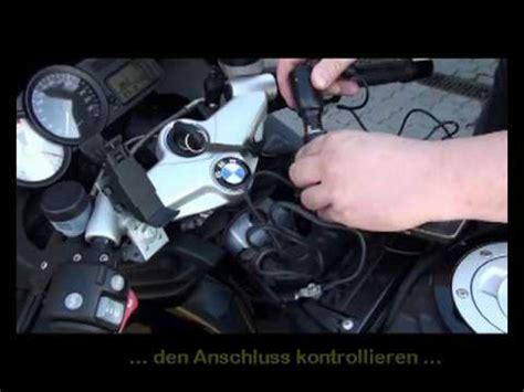 Navi Motorrad Anschlie En by 12v Steckdose F 252 R Auto Motorrad Oder Boote Youtube