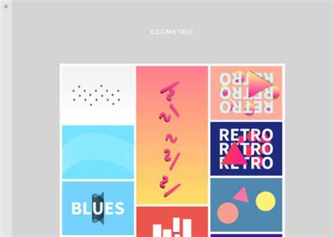 grid layout x theme 33 clean minimalist tumblr themes xdesigns