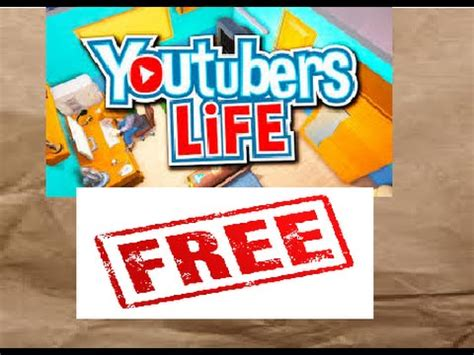 download youtube life nexustak free download youtubers life game windows