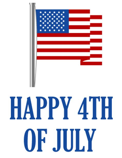 happy 4th of july clipart happy fourth of july clipart clipart best