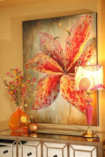 cuadros al oleo de flores modernos cuadros de flores al oleo que refrescan los espacios