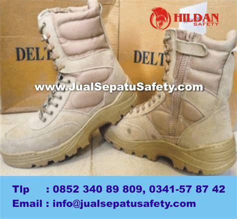 Crocodile Cordura Steel Toe Safety Ujung Besi 1 toko sepatu delta forge tactical series black