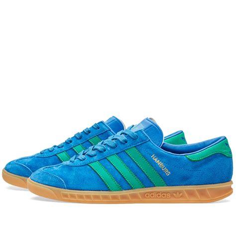 Sepatu Adidas Sneakers Hamburg Green Import adidas hamburg lush blue fresh green