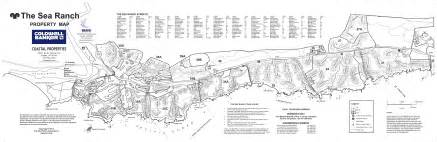 sea ranch california map sea ranch vacation homes rentals