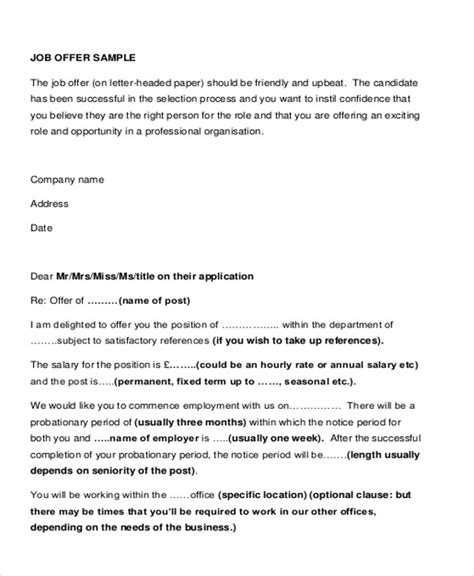Offer Letter Salary Increase Sle Salary Letter 8 Exles In Pdf Word