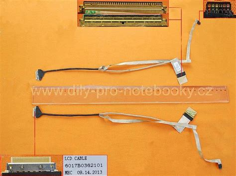Kabel Cable Hp 1000 Compaq 450 455 240 245 Lcd Flex Kabel Pro Notebooky Hp 450 455 240 245 1000 2000