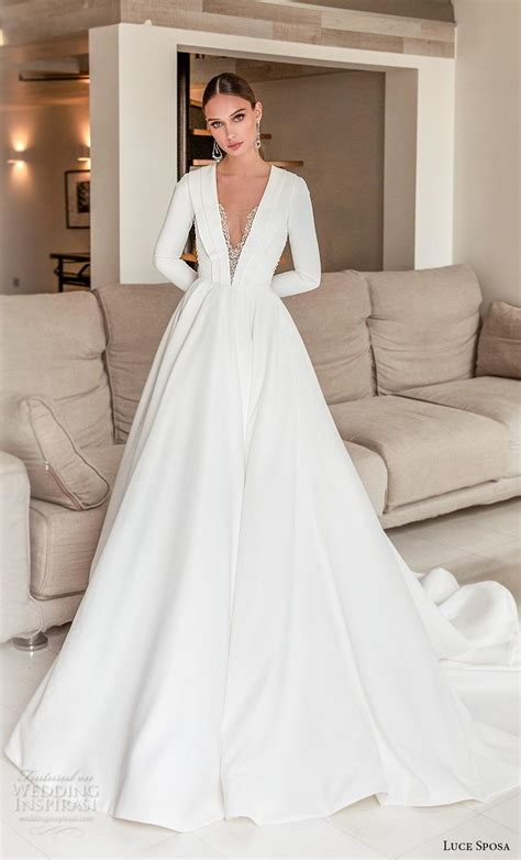 Simple Elegant Wedding Dress 2020