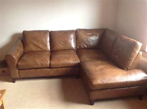 brown corner sofas stunning laura ashley baslow brown leather corner sofa