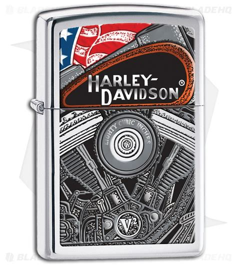 Harley Davidson Zippo Lighter by Zippo Lighter Harley Davidson Engine 28081 Blade Hq