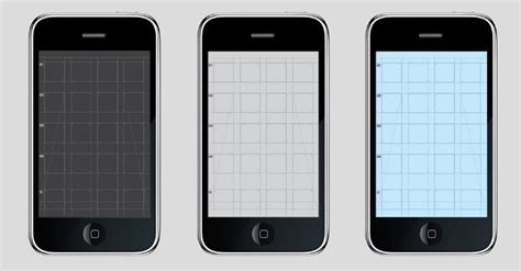 iphone layout grid iphone ios4 app grid effektive 174 design for print screen