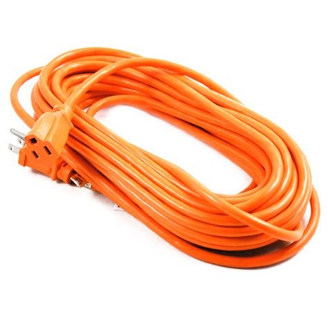 Decorative Extension Cord by 50ft Indoor Outdoor Grounded Extension Cord 125 Volts
