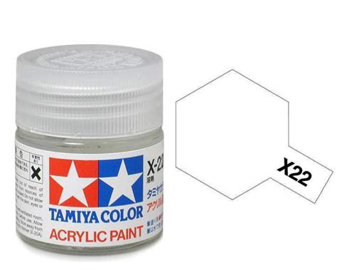 tamiya acrylic paint clear x 22 tamiya acrylic clear x22