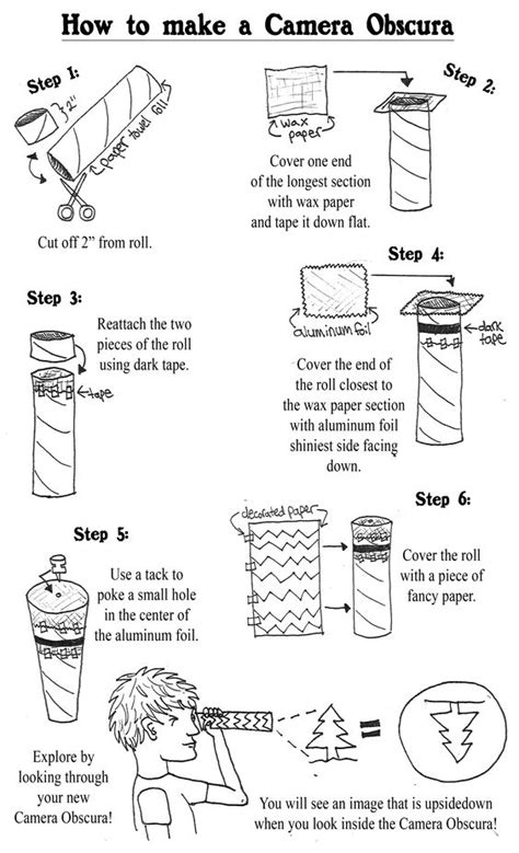 How To Make A Pinhole With Paper - the world s catalog of ideas