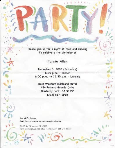 birthday invitation letter format formal decline of invitation letter invitations ideas