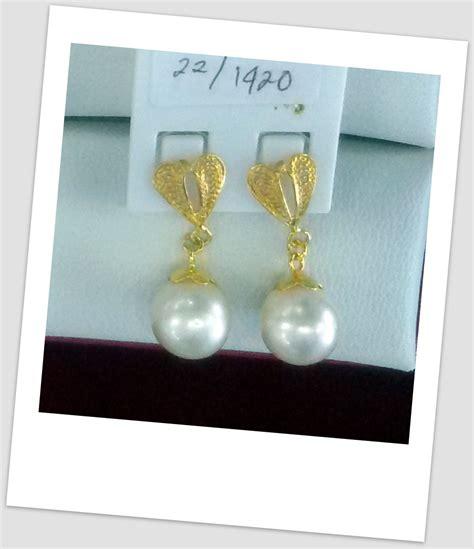 Promo Anting Perak Mutiara Tawar Lombok harga emas perhiasan harga mutiara lombok perhiasan toko