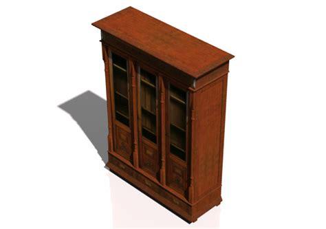 libreria classica mobili 3d libreria classica acca software