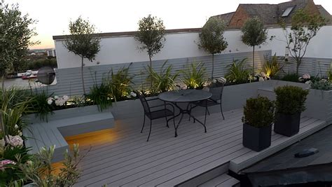 bench terrace design built in bench with storage on roof terrace outdoor pinterest modern roof terrace