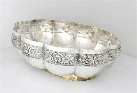 large sterling silver sanborns large sterling silver centerpiece bowl from