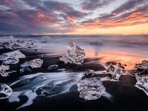 northern lights sun l northern lights glaciers photography