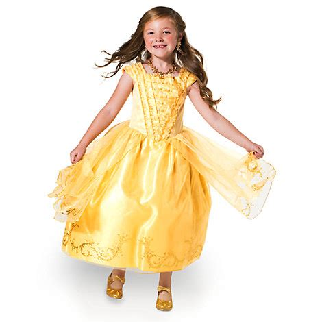 Dress Disney Premium premium golden costume dress for and