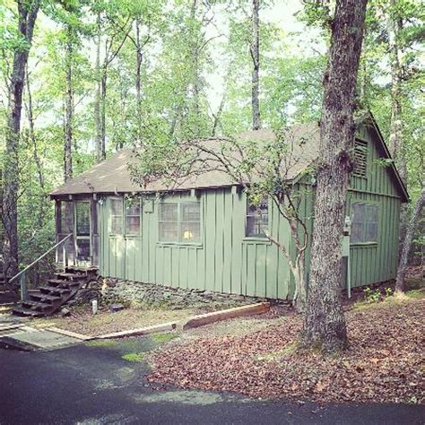 cabin picture of oconee state park mountain rest