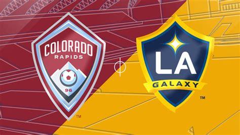 lineup colorado rapids vs la galaxy 03 13 2016 matchcenter