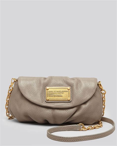 Marc By Marc Marc By Marc Miss Marc Canvas Zip Pouch by Lyst Marc By Marc Crossbody Classic Q Karlie In Gray