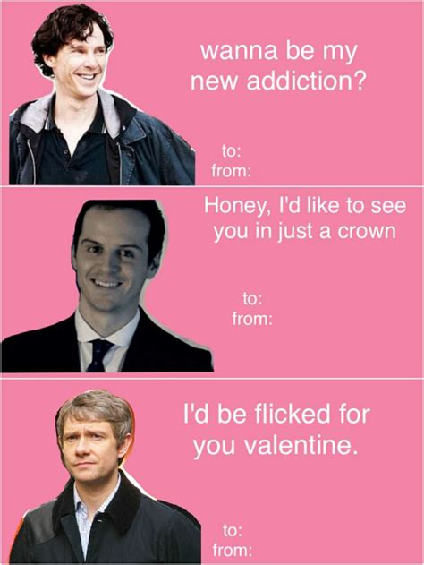 sherlock valentines geeky holidays projects