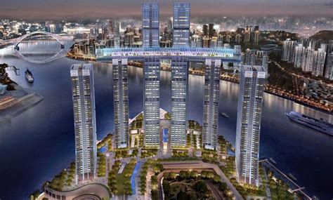 worlds longest horizontal skyscraper unveiled  china property build