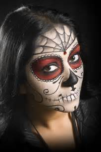 best halloween white face paint day of the dead face paint make up entertainmentmesh