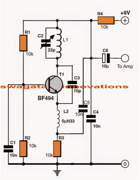 single transistor fm transmitter circuit diagram make this simple fm radio circuit using a single transistor